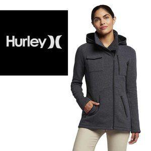 Hurley Winchester Asymmetrical Fleece Jacket - X-Small